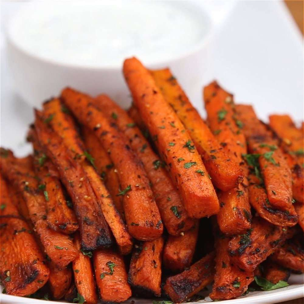 Carrot Fries -
