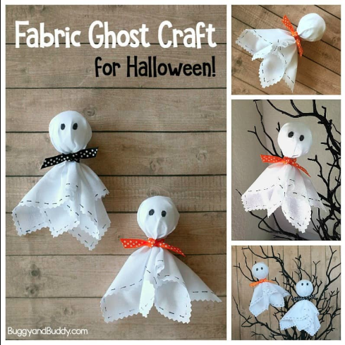 Fabric Ghosts!