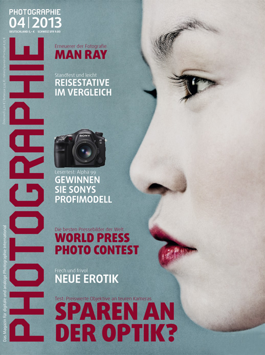 couverture de photographie magazine