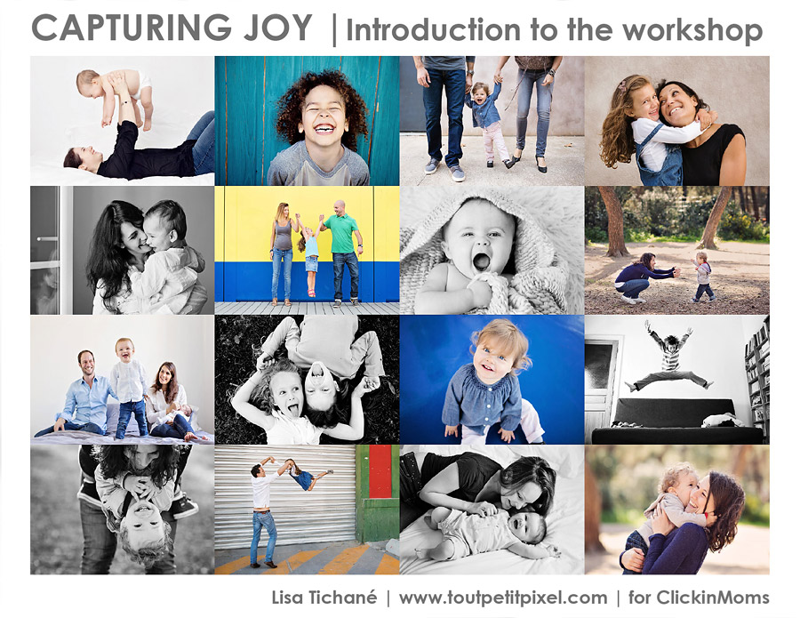 Capturing Joy workshop cover