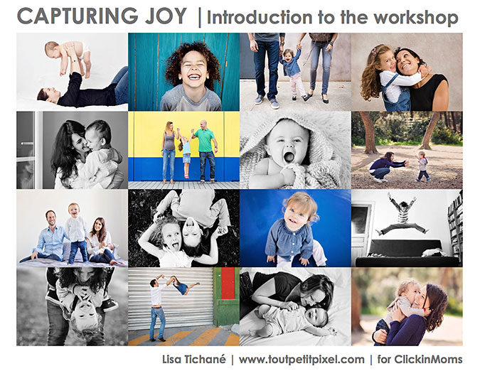 Introduction - Capturing Joy workshop
