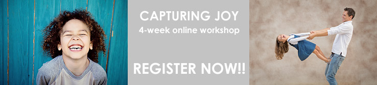 Capturing Joy - Register Now!