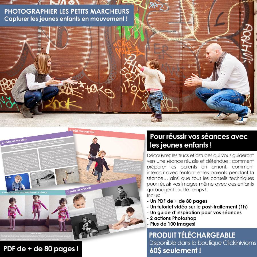 E-book pour photographe - jeunes enfants