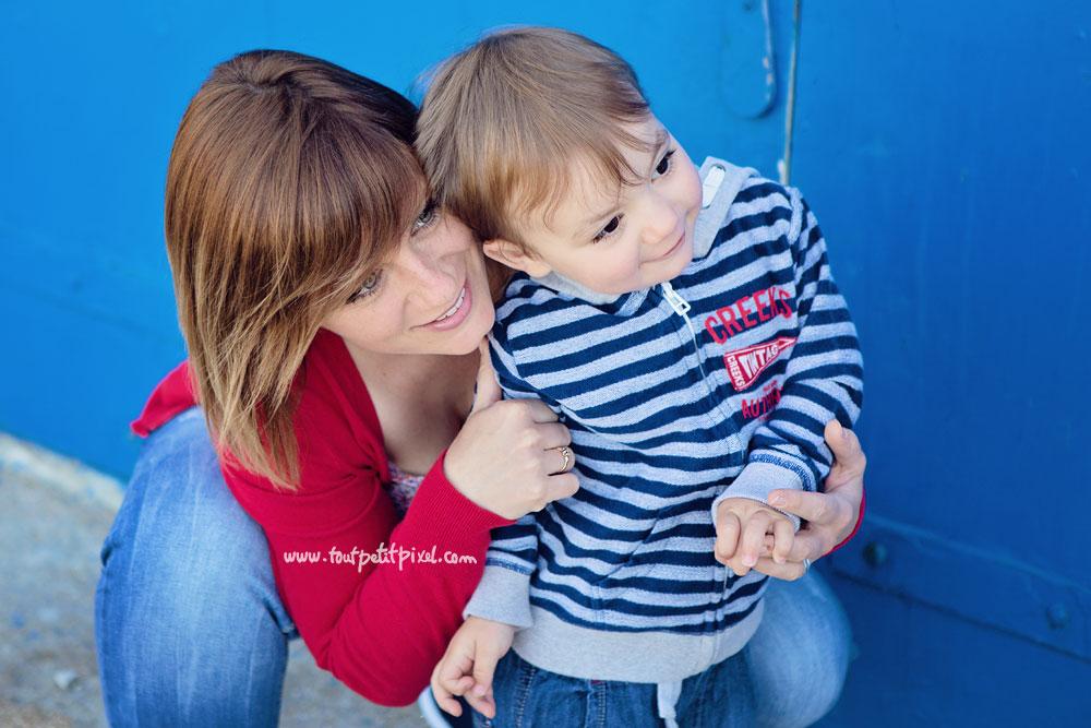 photo maman enfant couleur