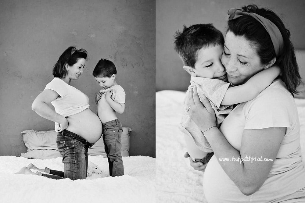 photographe grossesse à domicile marseille