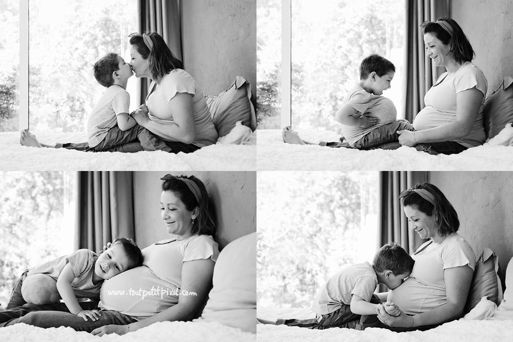 photographe grossesse maman enfant