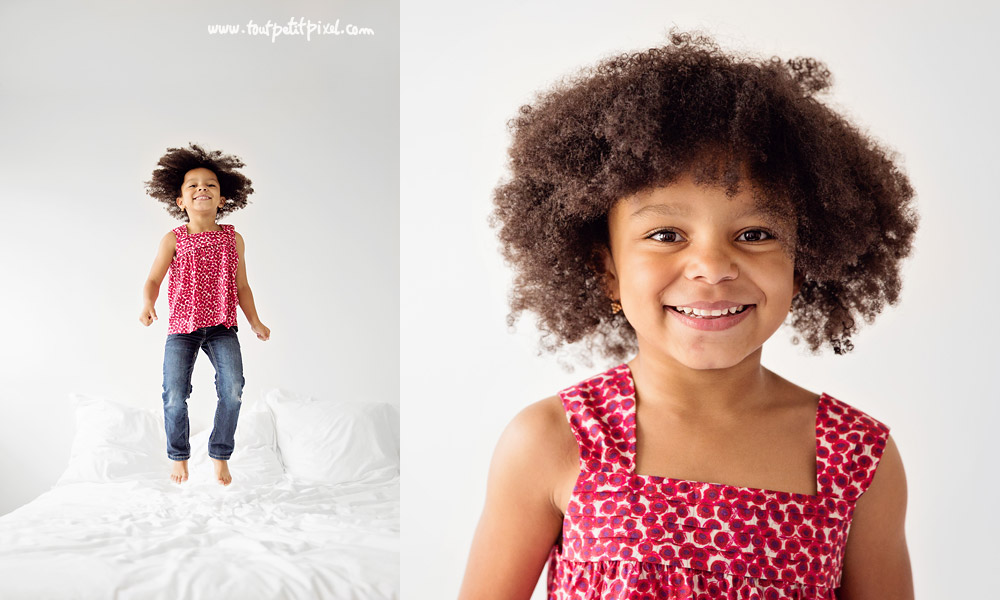 portrait enfant naturel studio