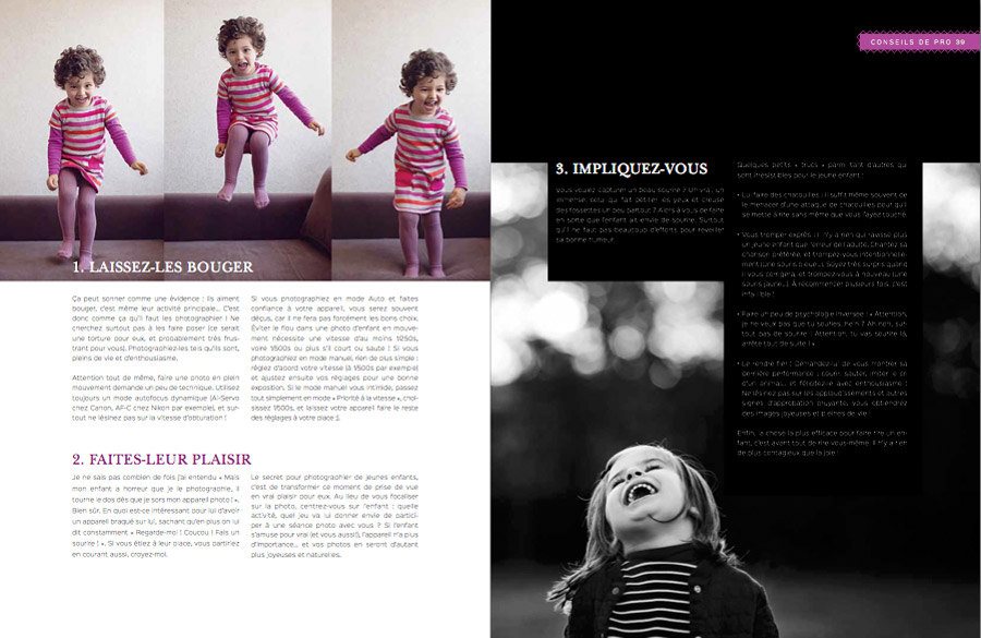 Publication portraits d'enfants Lisa Tichané