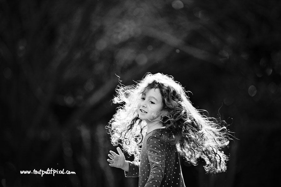 photographe enfant lumière