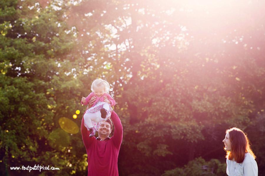 photo famille lumière naturelle
