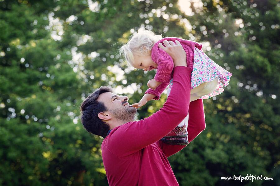 photographe papa bébé lifestyle