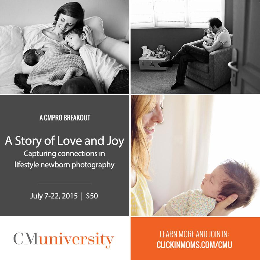 Lifestyle Newborn online workshop