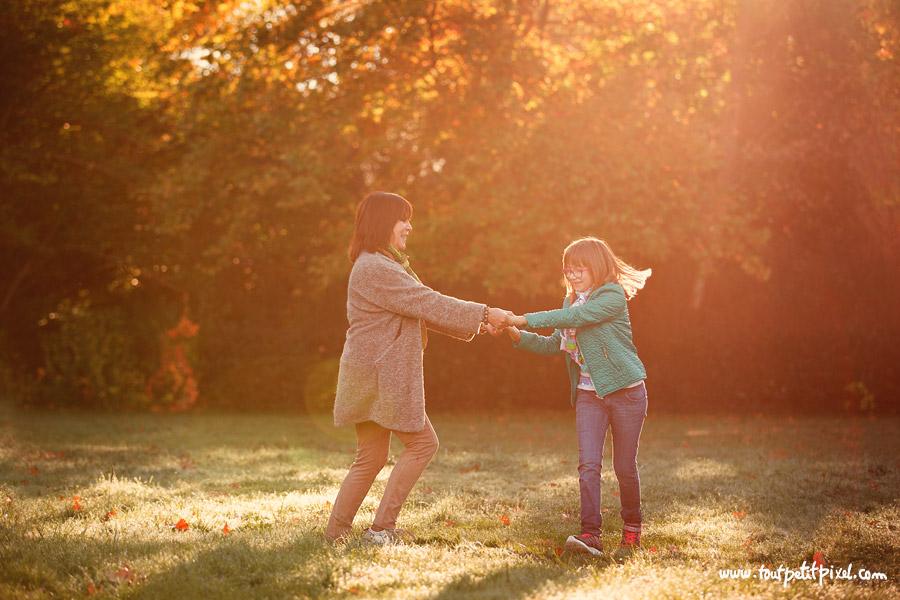 photo mère enfant lifestyle soleil
