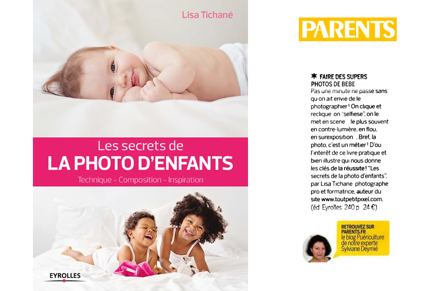 Les secrets de la photo d'enfants magazine parents