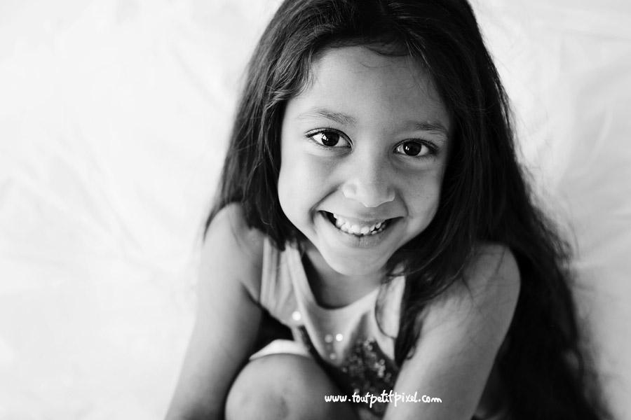 portrait enfant sourire