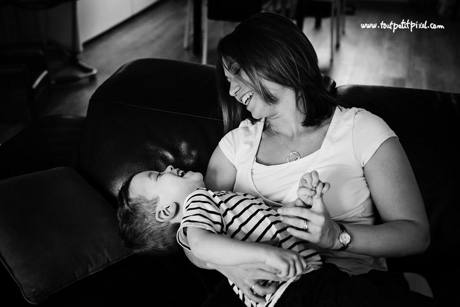 photographe enfant à domicile