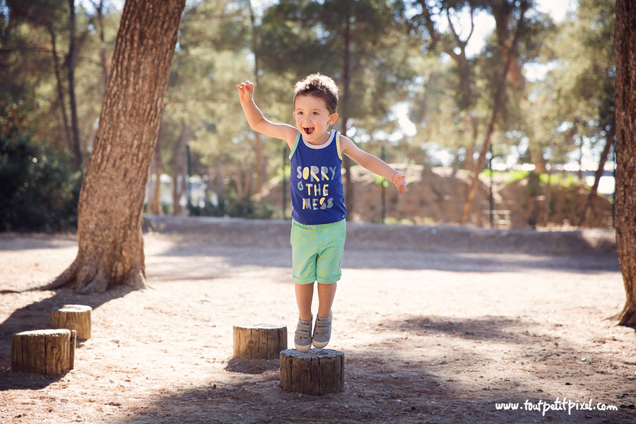 photo enfant au parc marseille
