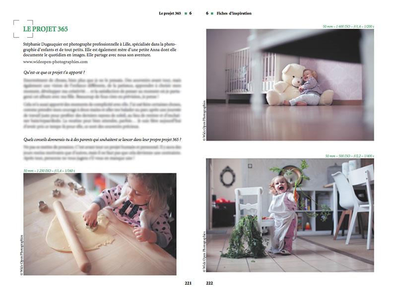 Livre photo d'enfants - Interview Wide Open Photographies