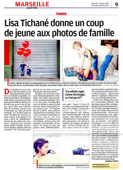 La Provence - Photographe famille