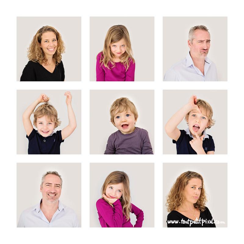 photos de famille rigolotes