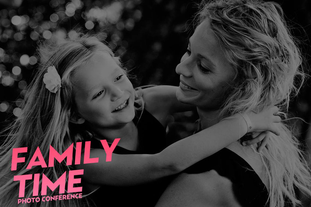 Conférence photo pour photographes enfant lifestyle à Barcelone - Family Time