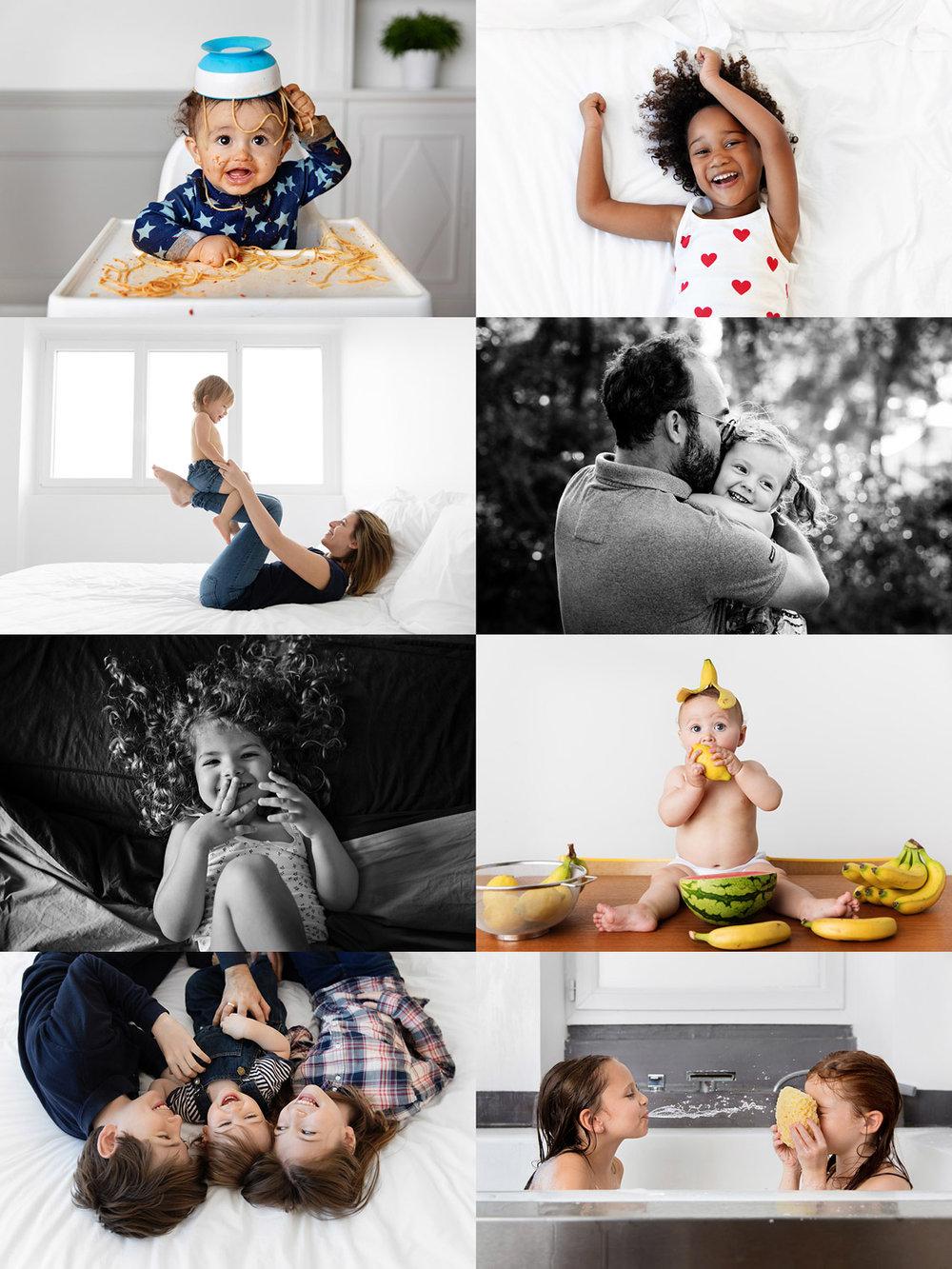 Photos rigolotes d'enfants et de bébés par Tout Petit Pixel, photographe lifestyle à Marseille