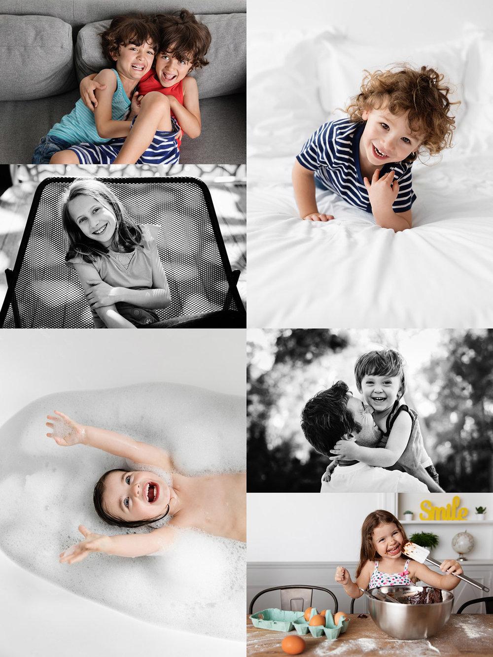 Photos lifestyle d'enfants et de bébés par Tout Petit Pixel, photographe de portrait à Marseille