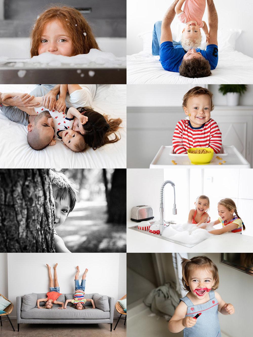 Photos d'enfants et de bébés lifestyle par Tout Petit Pixel, photographe famille à Marseille