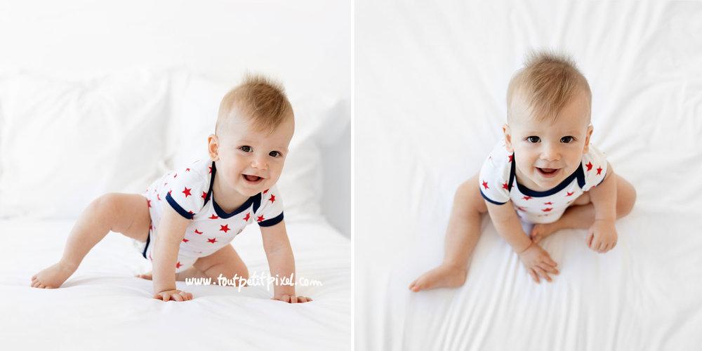 Photos de bébé au naturel par Tout Petit Pixel, photographe bébé lifestyle à Marseille