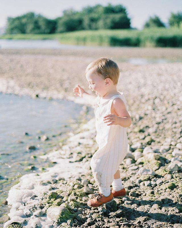 Just an ecstatic little babe enjoying his heart out of summer.