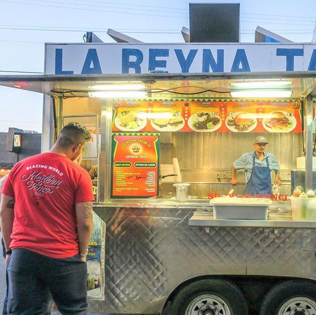 La Reyna Tacos No. 2. 🌮 #antisocialla #losangeles #dtla #artsdistrictla #tacos