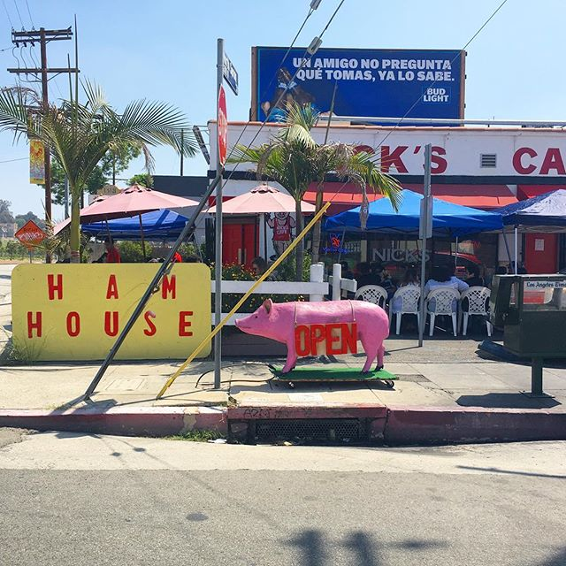 Ham House. 🐖 #antisocialla #losangeles #downtownla #chinatownla