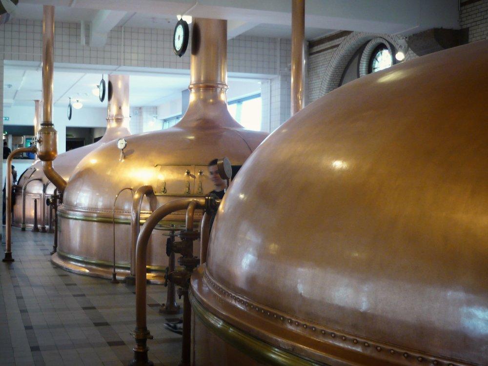 Heineken Experience - mash process