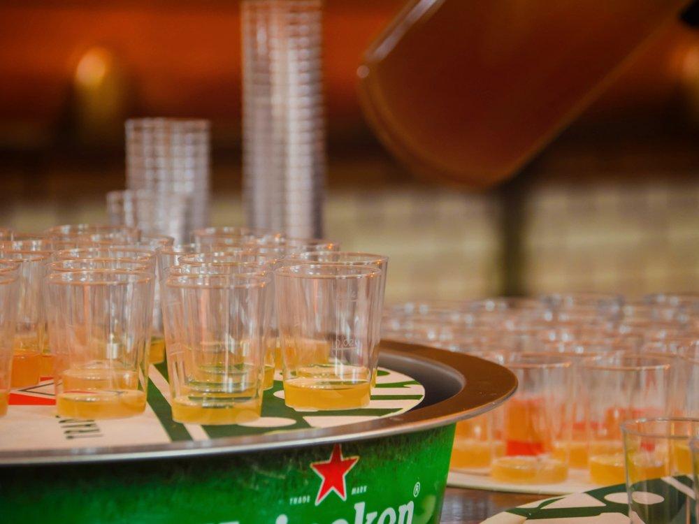 Heineken Experience - tasting