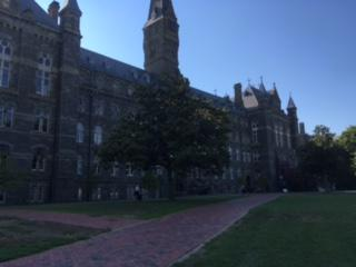 Visited Georgetown University with my roommates. Beautiful campus!