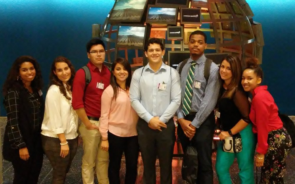 2017 Talent Development and Innovation in Sciences Interns (TDIS)  Touring the Lockheed Martin facility in Arlington, Virginia.