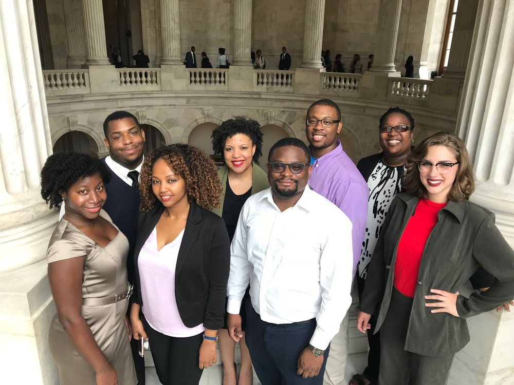 2018 Talent Development and Innovation in Sciences Interns (TDIS)  at the Rayburn Building in Washington, DC.
