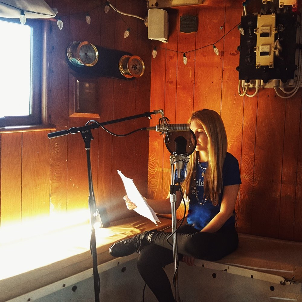 Beatie Wolfe - The Mysterious Sound of the Sea - onboard the Just Love.JPG