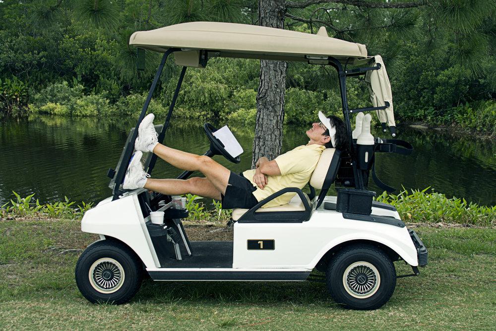 golf is boring