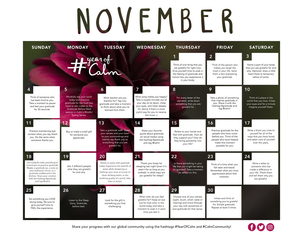 November Mindful Living Calendar (Printable).jpg