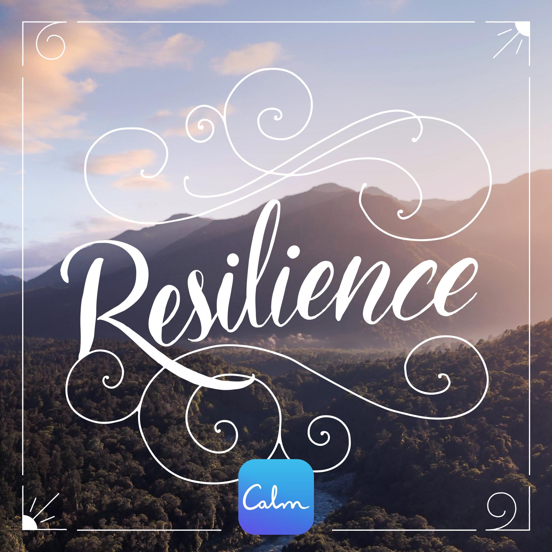 RESILIENCE — Calm Blog