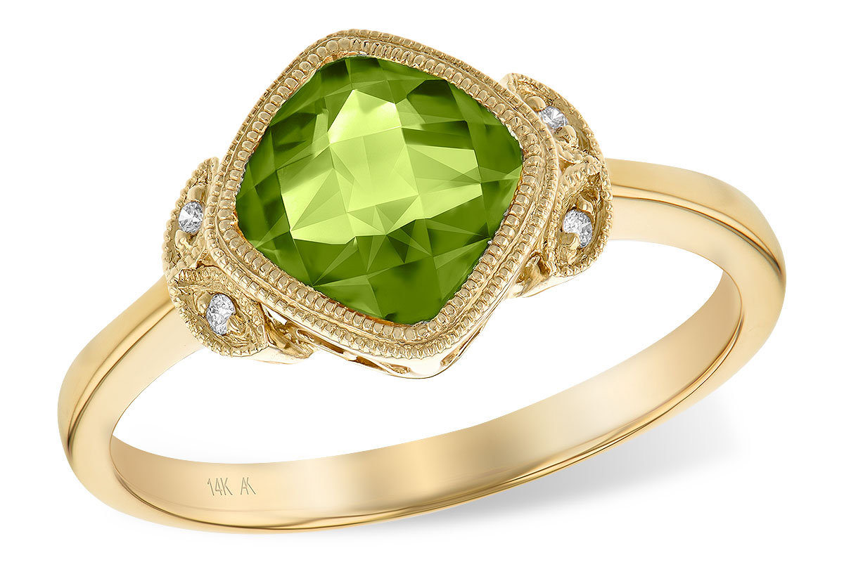 engagement peridot ring full rings photos vintage