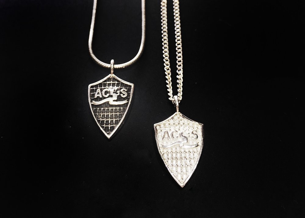 ACTS Shield Pendants