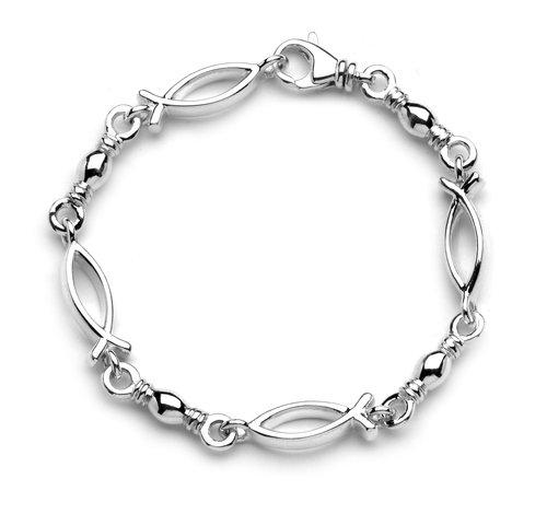 Fish Links Swivel Bracelet M B Rich Jewelry