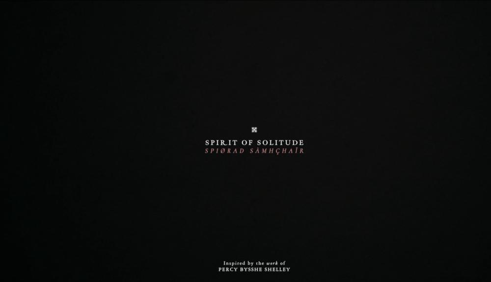 Spirit Of Solitude