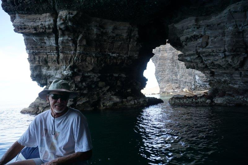 Some of the sea caves…