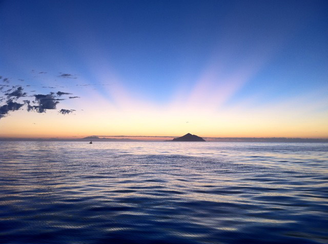 Eric Stoller's beautiful photo of Sunrise at Anacapa Island