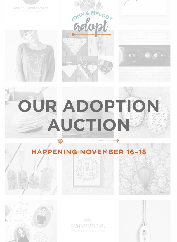Christian Family Adoption Auction