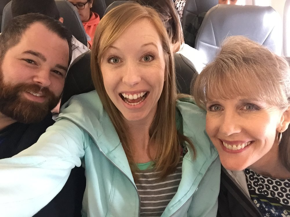 Flying to Orlando! Our adoption journey