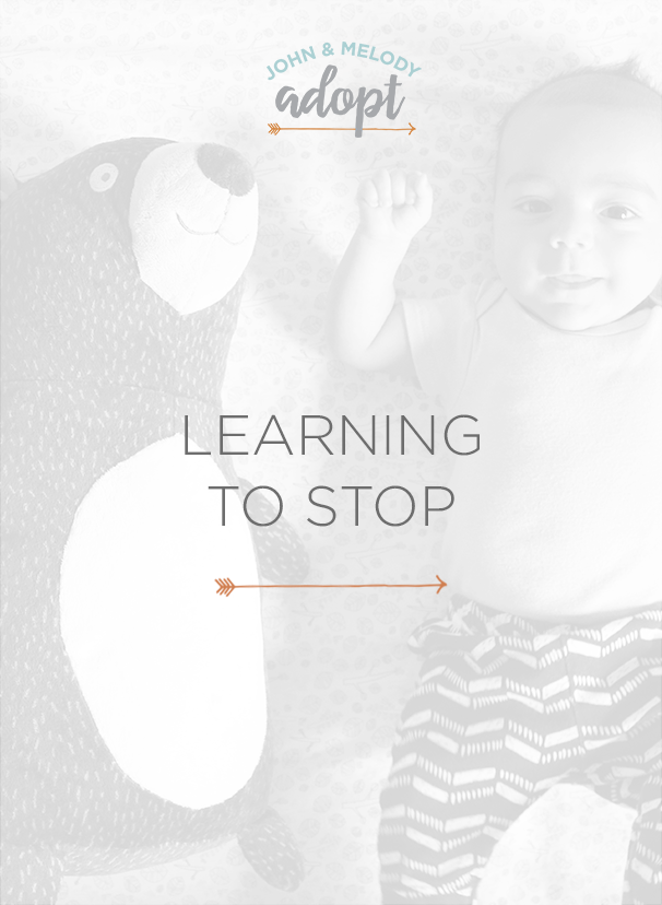 Learning how to stop and be present as a work from home mom